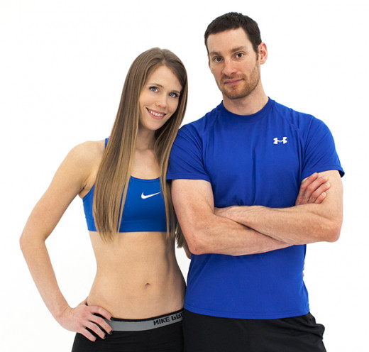 Kellie and Daniel, the couple behind Fitness Blender.