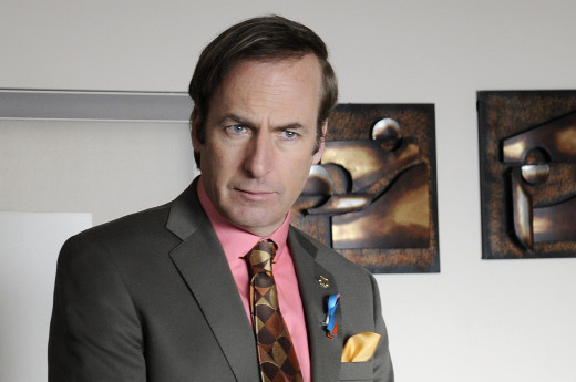 Odenkirk as Jimmy McGill/Saul Goodman