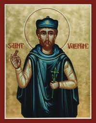 St. Valentinus (Valentine) the Presbyter. The lessor known martyr celebrated by the Christian Orthodox Church.