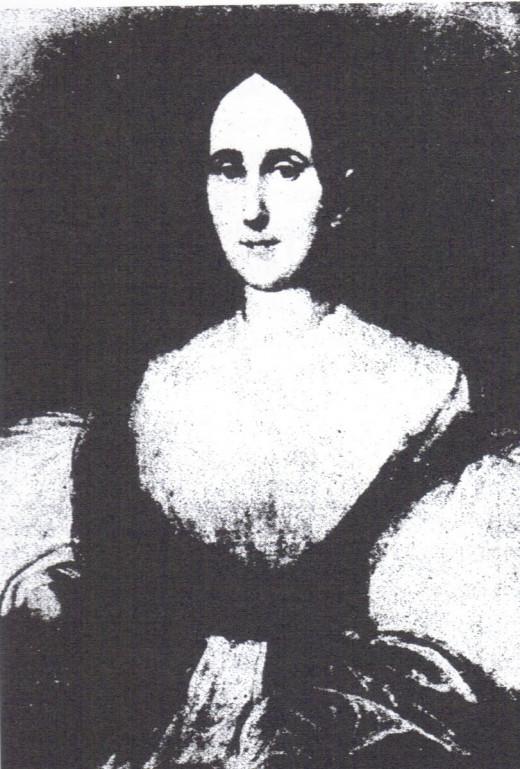 Depiction of the famous LaLaurie portrait