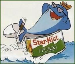 Charlie, the tuna--Starkist tuna