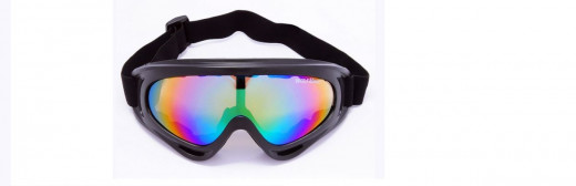 Goggles like these can be used for snowboarding or skiing