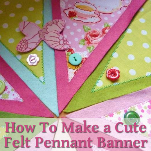 Making A Banner Out Of Felt And Fabric Hubpages