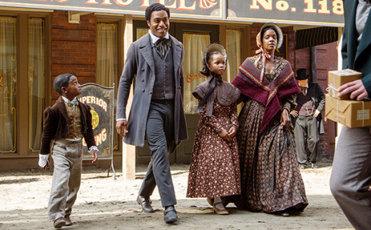 BAFTA award, Chiwetel Ejiofor won best actor for 12 Years a Slave.