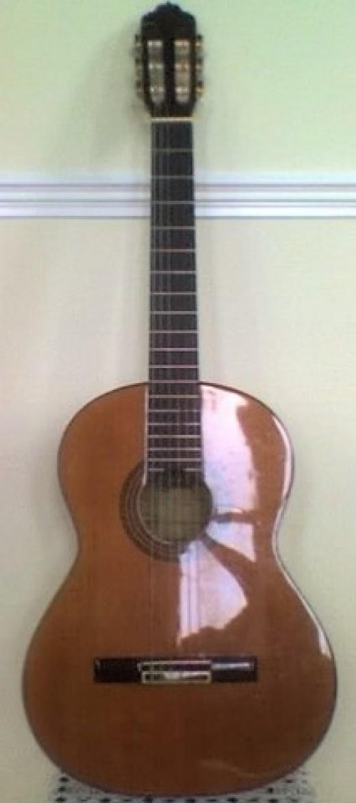 my cayuela flamenco guitar