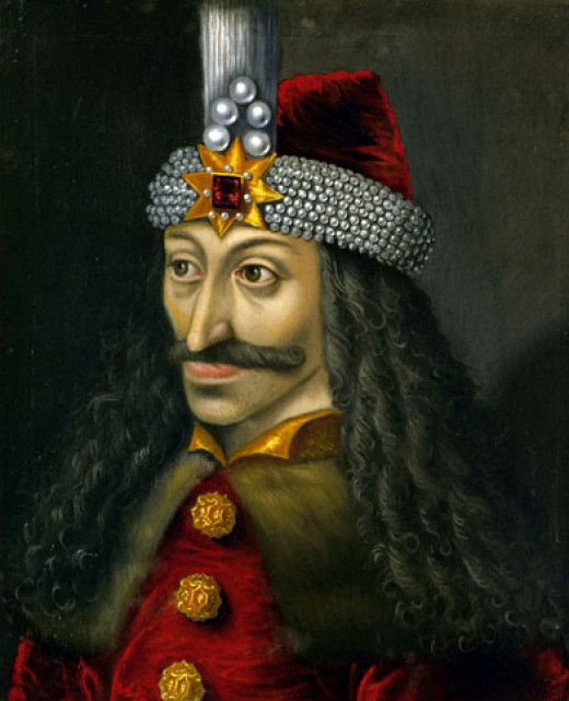 Postmortem painting of Vlad the Impaler from Kunsthistorisches Museum (Viena).