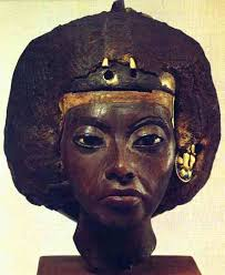 "Queen Tiye who long ago did the ""big chop"" beside the river nile"