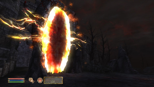 Oblivion gates were fairly intimidating the first time you saw them.