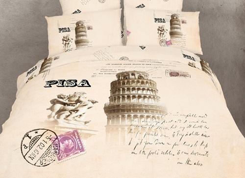 Pisa Novelty Duvet Cover Set by Dolce Mela