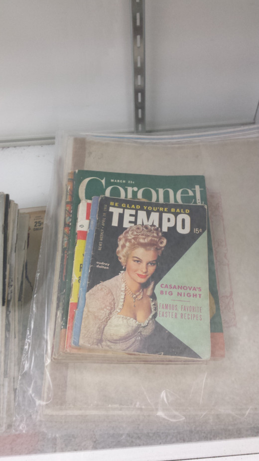 Old Competitor Coronet and some other period magazines