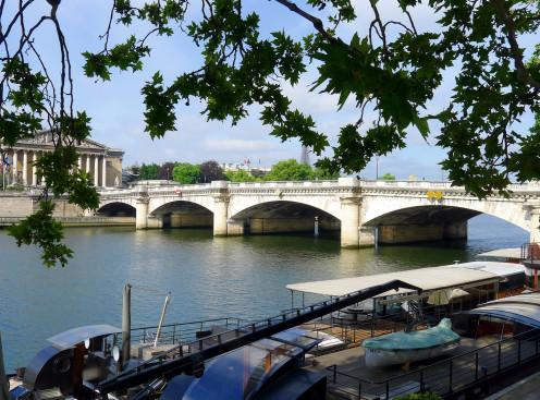 Quai / pont de la Concorde - Paris