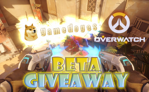 The featured Overwatch beta giveaway