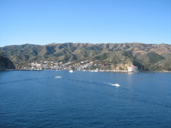 Leaving Catalina