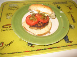 Happy Wife Happy Life Cook Book - Turkey Burgers