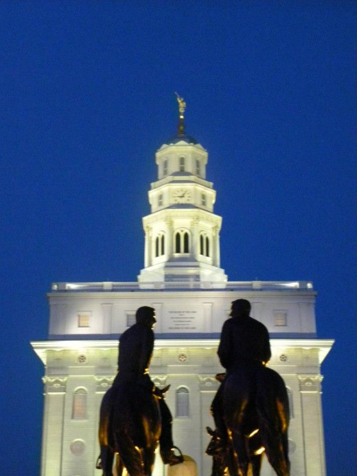 This is another example of how circling provides additional opportunities. This is the LDS Temple at Nauvoo, IL.