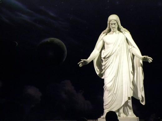 Christus, Salt Lake City LDS Temple visitor's center.
