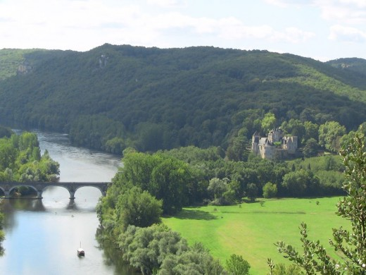 From a castle view in France.