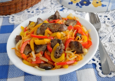 Lights - Offal with vegetables
