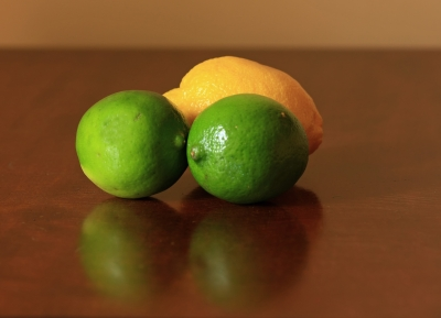 Zest from citrus fruit