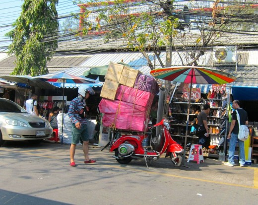 Local market in Bangkok