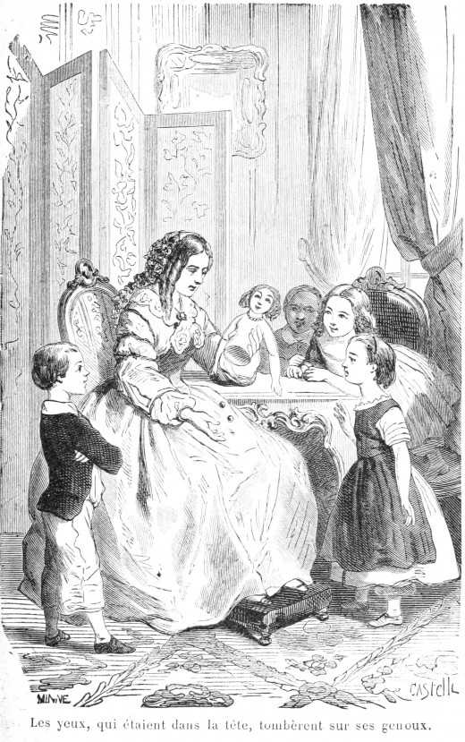 Sophie's Mother Fixes the Doll