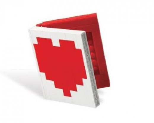 LEGO Heart Book 40015 Valentines Day