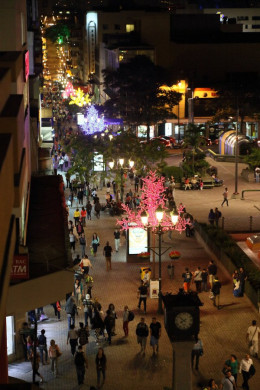 San José has an active nightlife during good weather.
