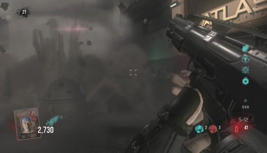The Orbital Drop makes a crash landing.