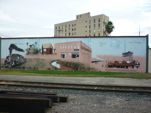 The Early Days Mural, Harlingen, Texas