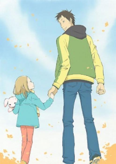 Anime: Usagi Drop -  An example of slice of life anime that isn't school related.