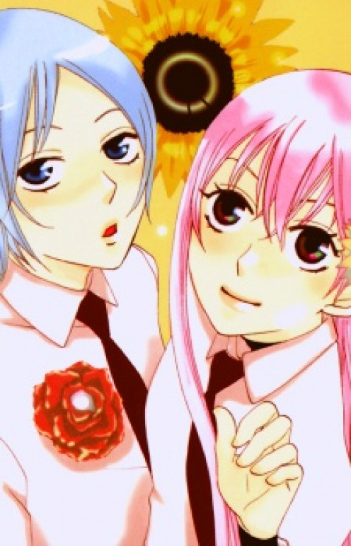 Anime: Karakuri Odette - An example of shoujo/scifi manga with school elements.