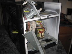 Replace Magnetron in GE Microwave (Spacemaker)