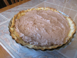 Easy No Bake Chocolate Cheese Cream Pie