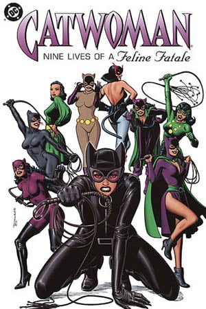 Catwoman comic book cover