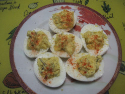 Happy Wife Happy Life Cook Book For Guys - Deviled Eggs