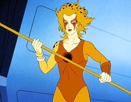 Cheetara cartoon still.