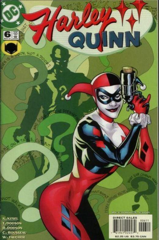 Holly Quinn comic book cover