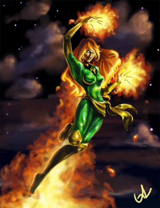 Jean Grey / The Phoenix fan art