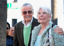 Stan Lee with wife Joan Clayton Boocock