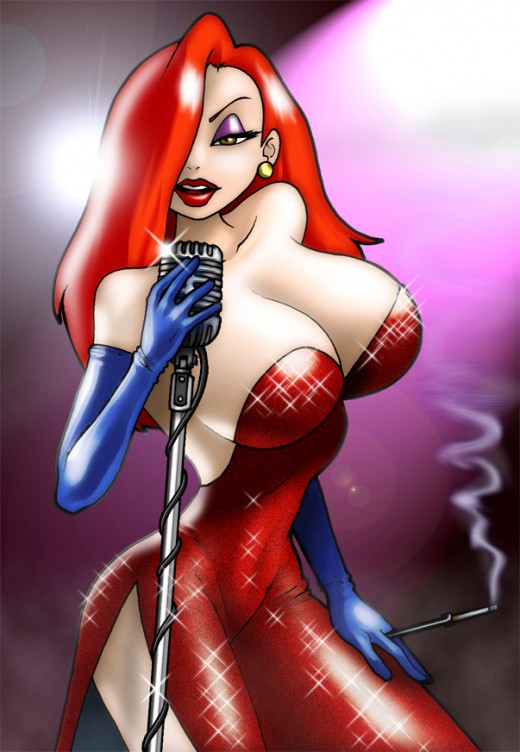 Jessica Rabbit fan art