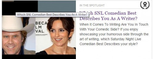 "Screen Shot/  Hub 'Which SNL Comedian Best Describes You As A Writer?""  http://swilliams.hubpages.com/video/Which-Saturday-Night-Live-Comedian-Best-Describes-You-As-A-Writer"
