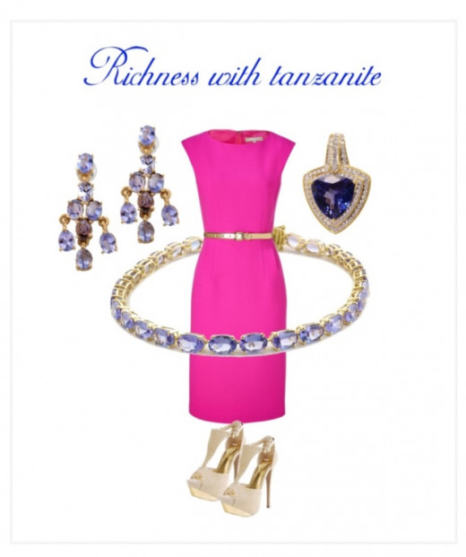 Richness with Tanzanite