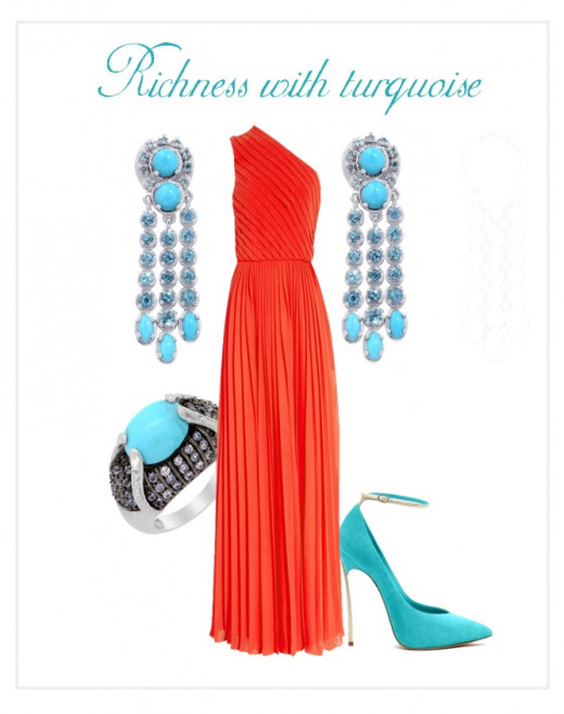 Richness with Turquoise