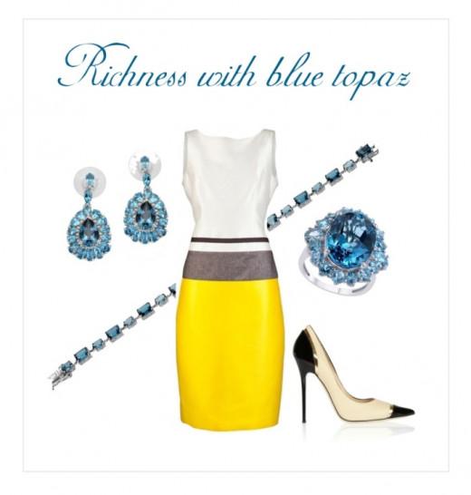 Richness with Blue Topaz Jewelry