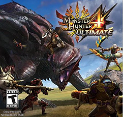 Monster Hunter 4 Box Art