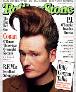 Conan's Wicked Hair