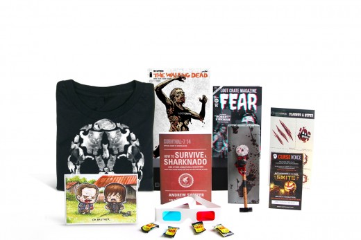OCTOBER CRATE THEME: FEAR 2014