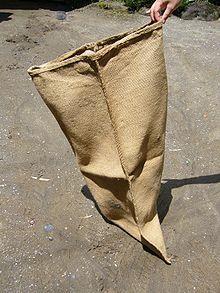 Typical gunny sack