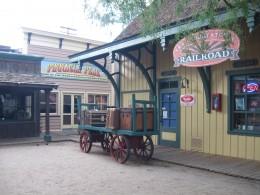 Train Depot in Tucson, Arizona's Trail Dust Town