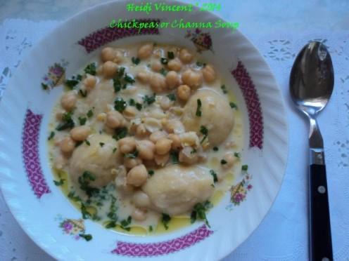 Channa Soup - Chick Peas Soup - Channa Recipes - Chick Peas Recipes